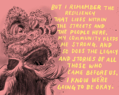 Image from Monyee Chau's A Comic on Resilience